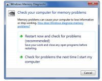 Windows Memory Diagnostic Utility